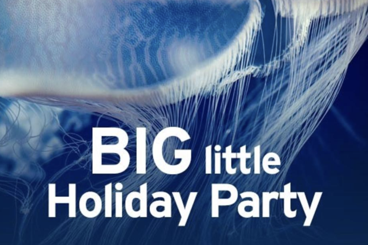 Monterey Aquarium Big Little Party