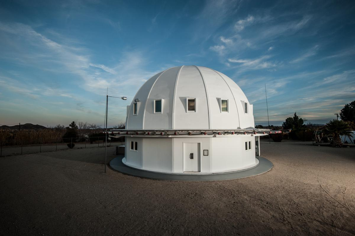 The dome shaped Integratron