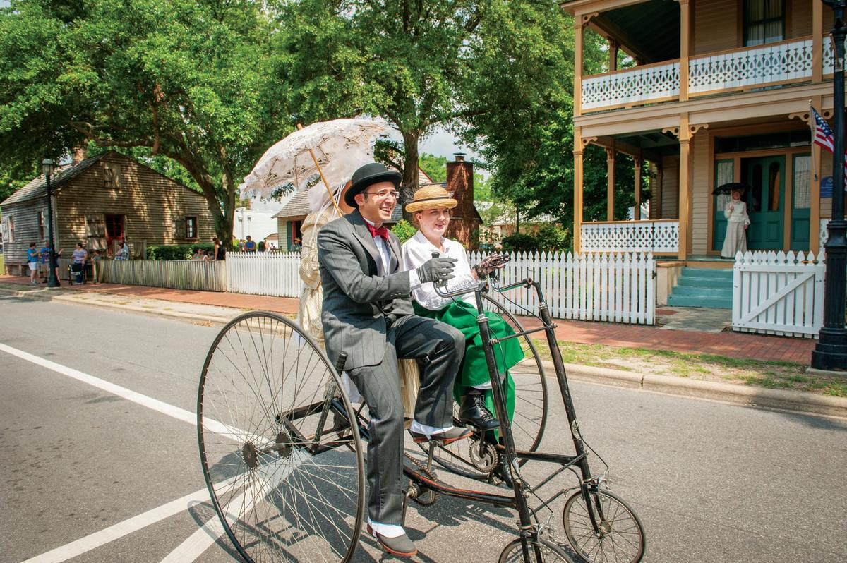 Experience Historic Village Cycle