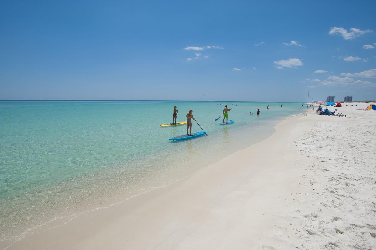 Paddleboard on Pensacola Beach