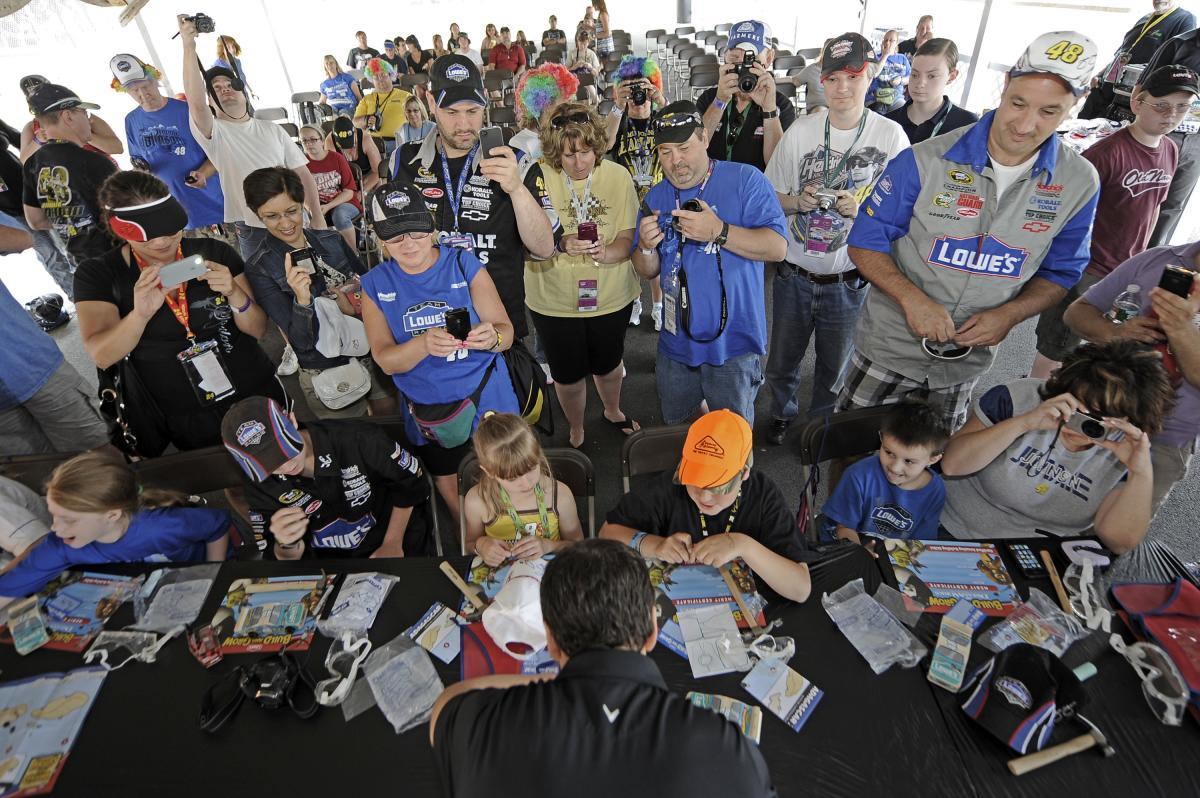 NASCAR Fan Fair at Pocono Raceway