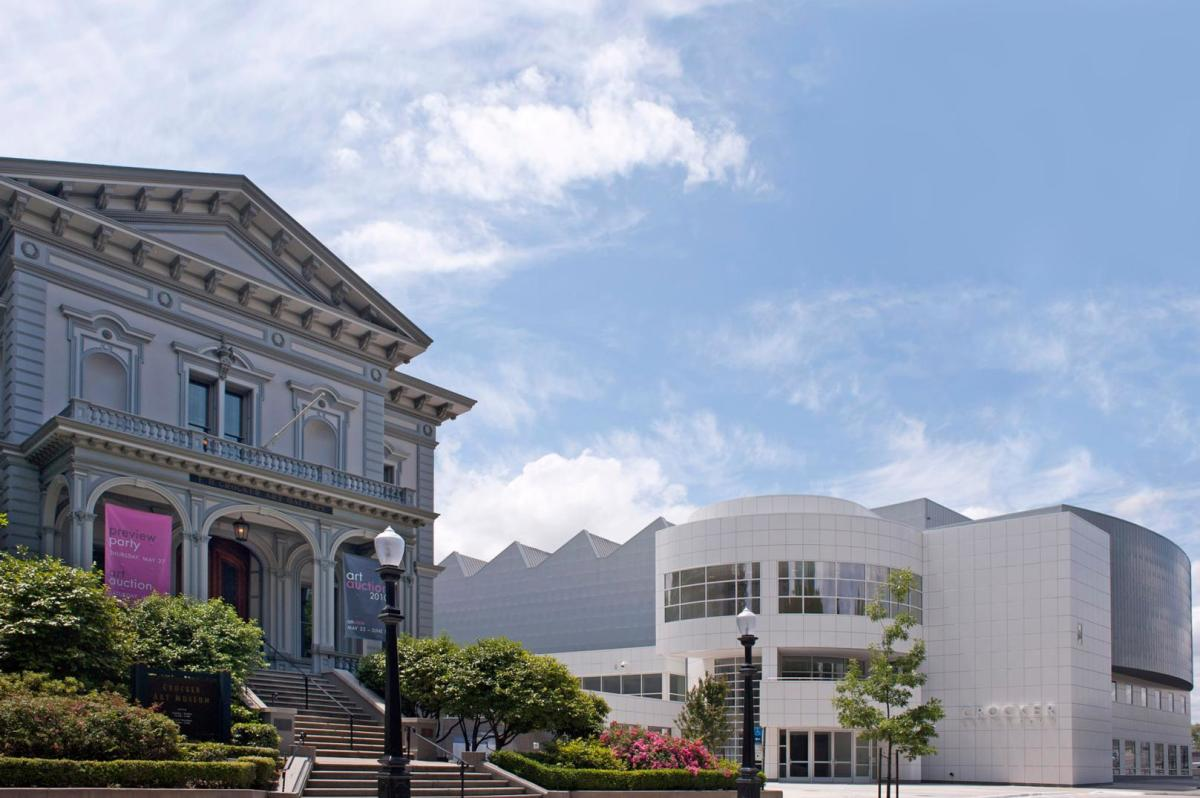 city scene-Crocker Art Museum exterior-Credit Brian Suhr