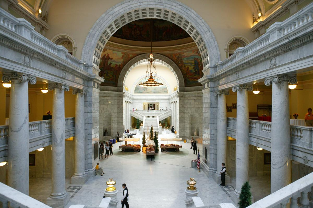 Come explore Utah's history at the Utah State Capitol