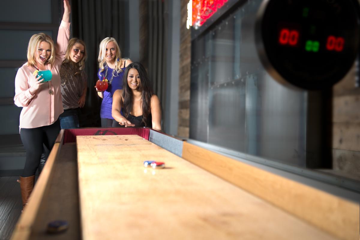 Shuffle Board Acme Bowl