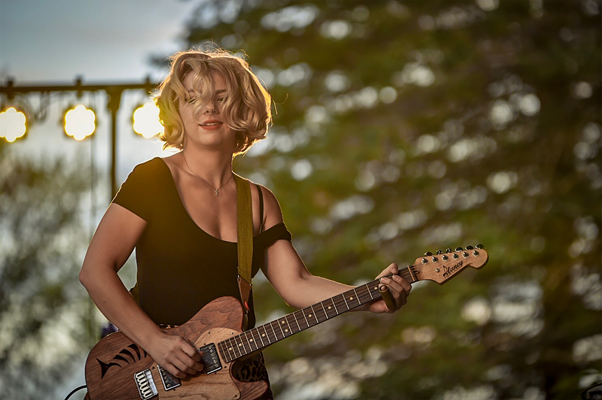 Samantha Fish at Levitt AMP Music Series in Stevens Point