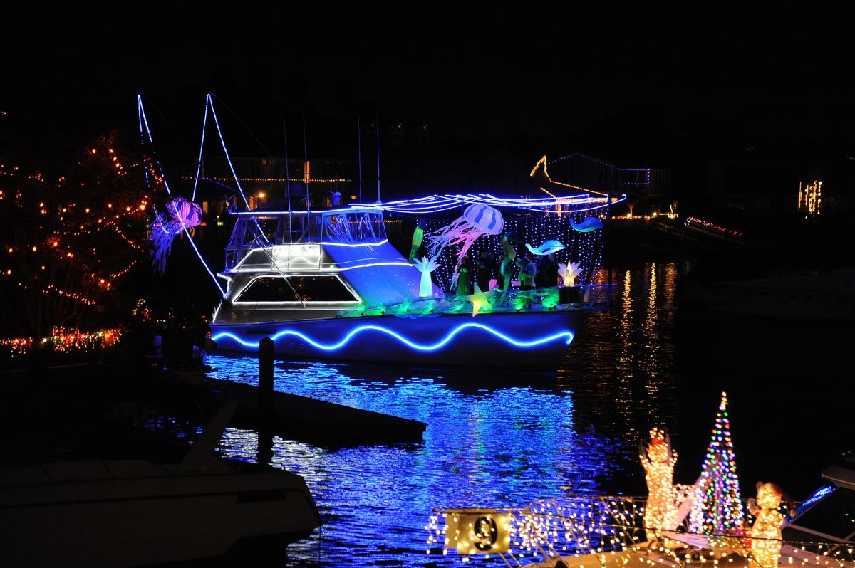 Huntington Harbour Boat Parade