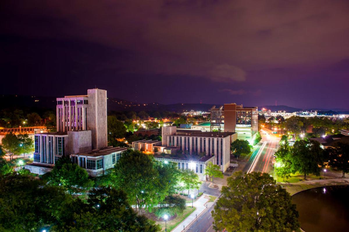 Huntsville, AL skyline