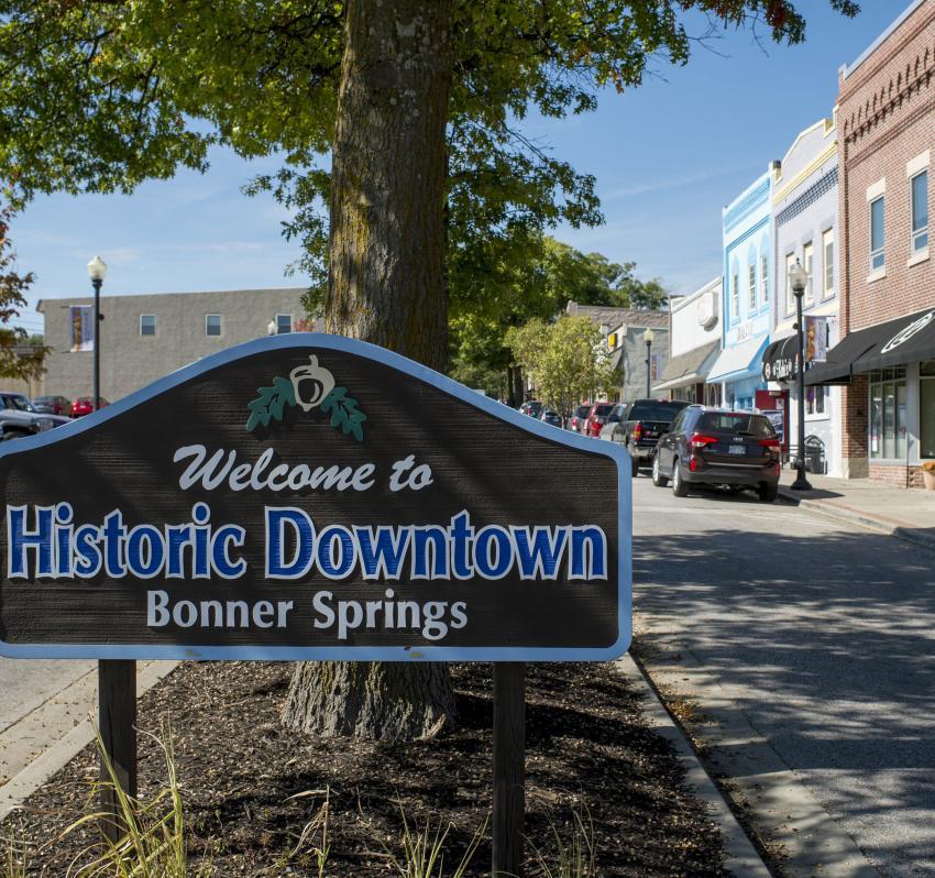 Downtown Bonner Springs