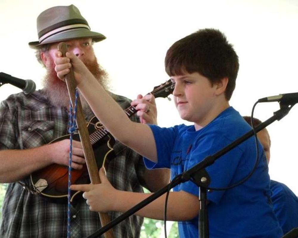 Kids Playing Music at WDVX Kidstuff
