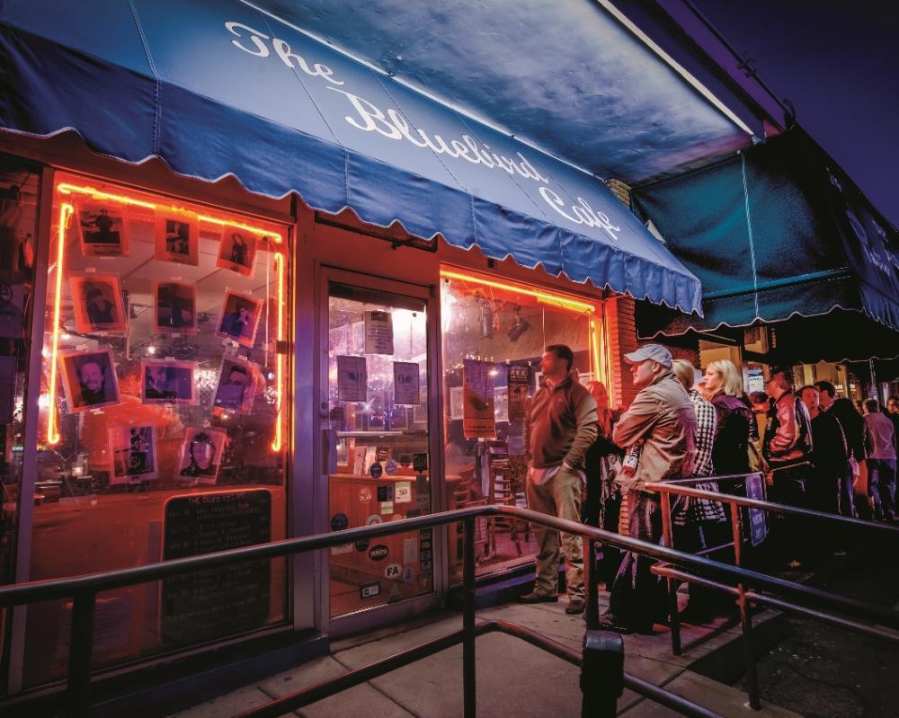 The Bluebird Café, credit Tennessee Department of Tourist Development