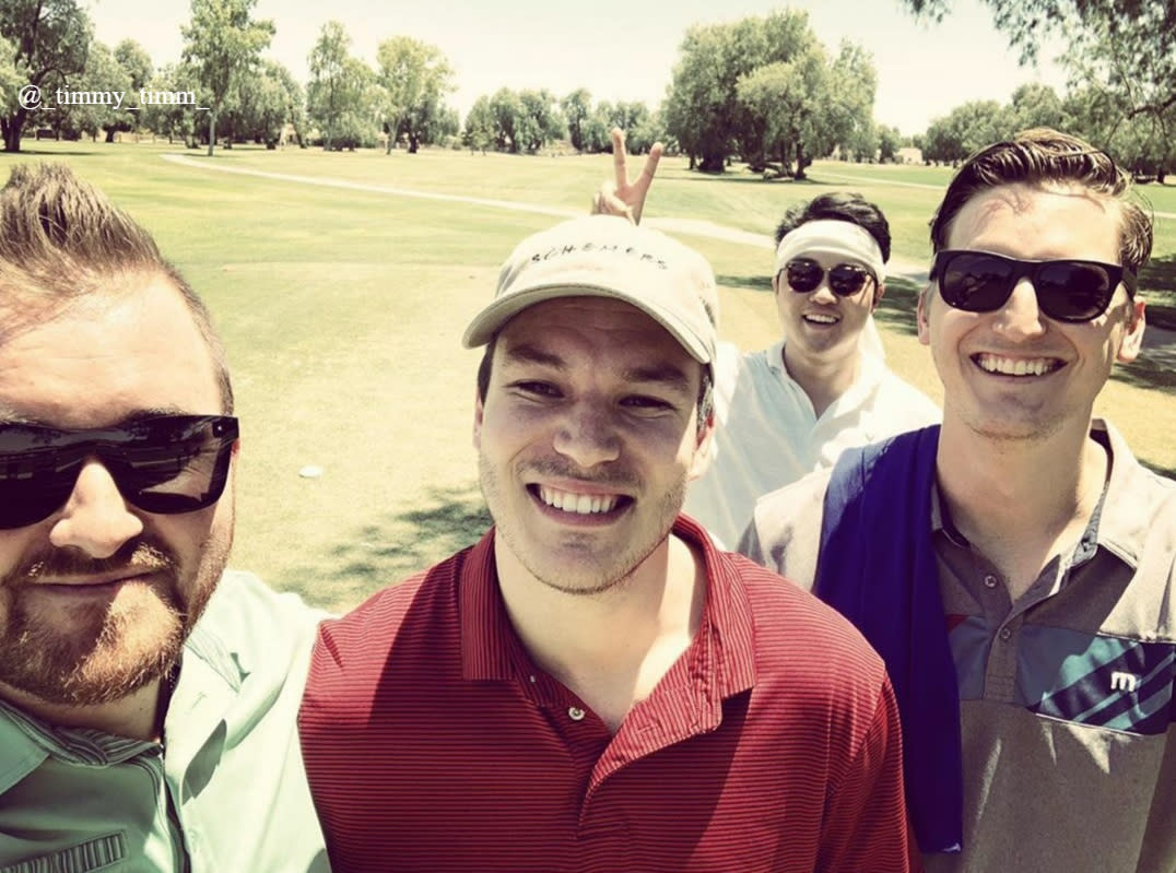 4 Men Golfing at San Marcos Golf Course in Chandler