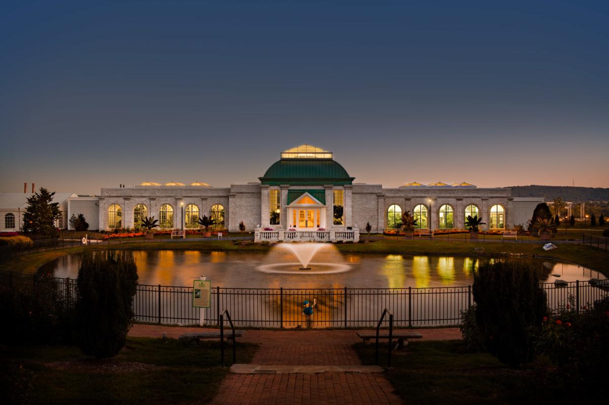Hershey Conservatory - Exterior Night