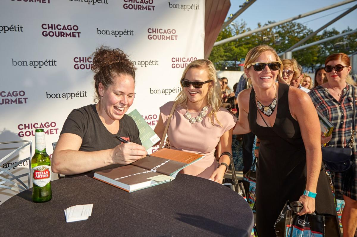 Chef Stephanie Izard at Chicago Gourmet