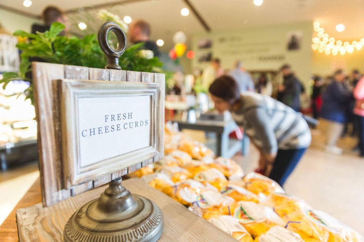 Say cheese at the Feltz's Dairy Store, where you can take a tour of the robotic milking barn and enjoy the fresh cheese.