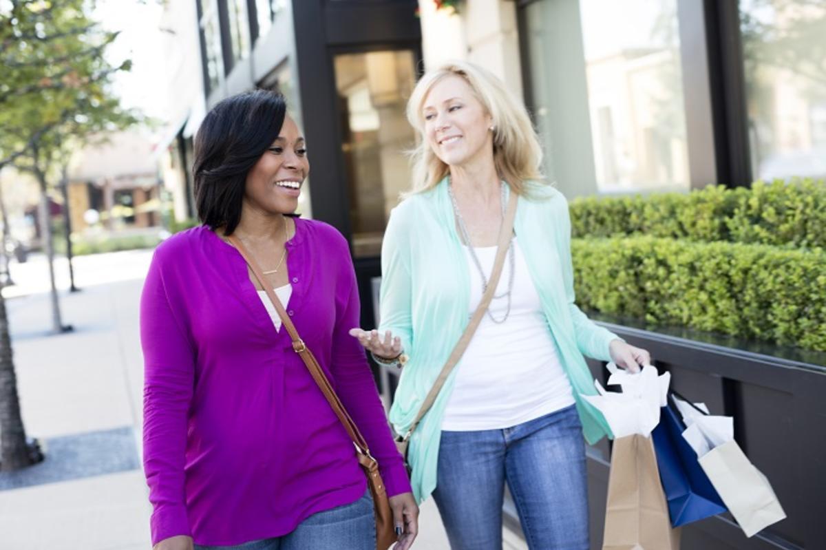 Ladies Shopping on Market Street