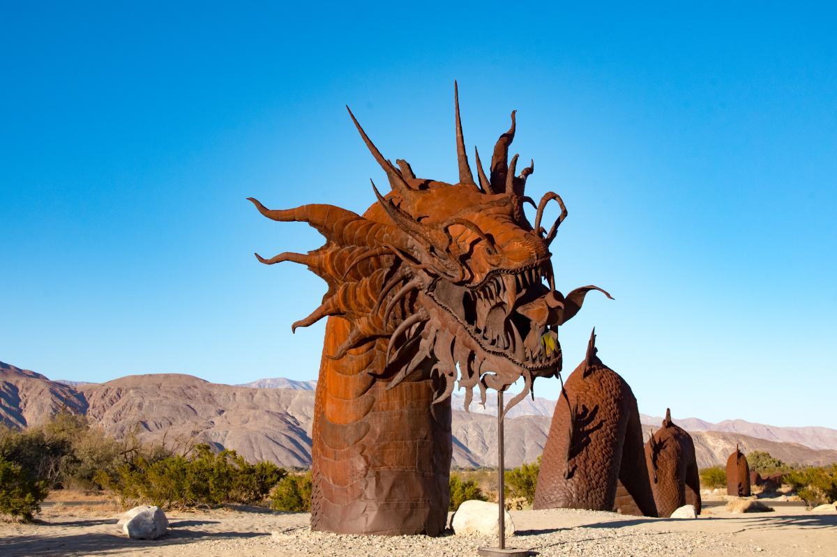 Borrego Springs Sculpture Dragon