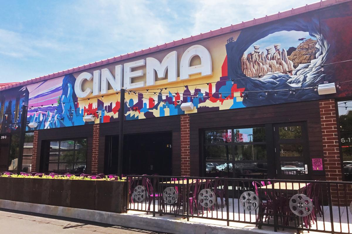 A Movie Lover S Dream The New Alamo Drafthouse Cinema In Raleigh N C