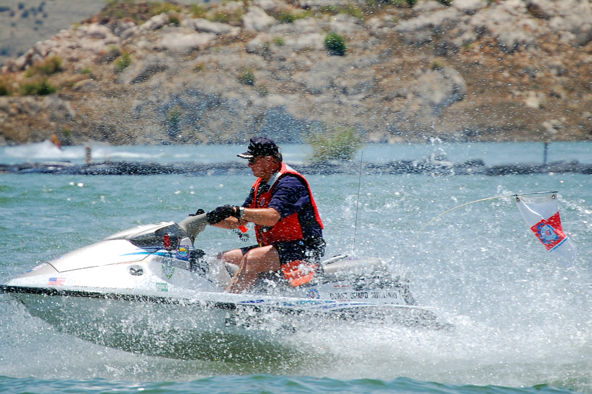 Elephant Butte Lake Jet Boater