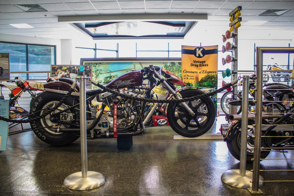 Legends of Harley Drag Racing Museum