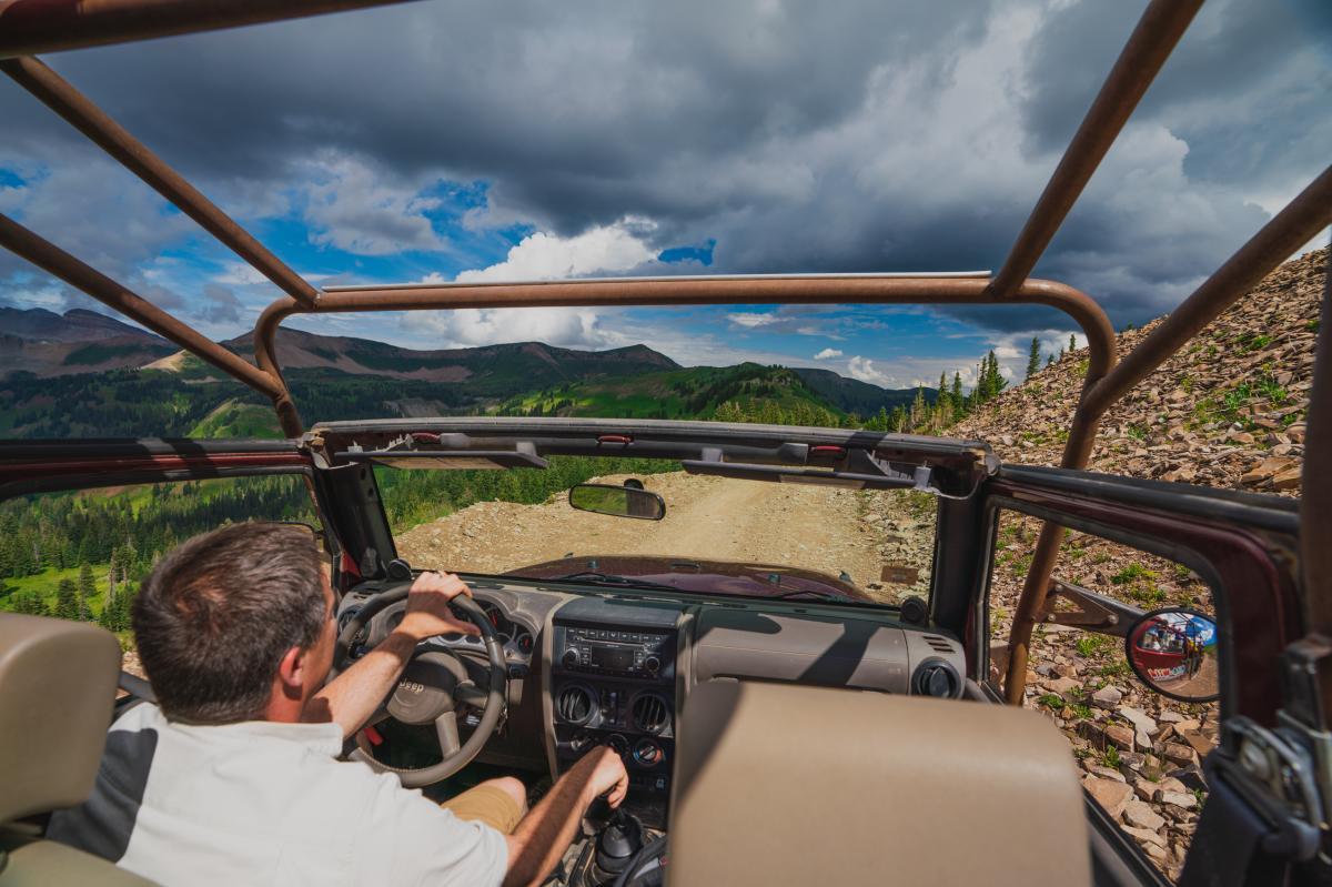 La Plata Canyon Driving and Jeeping Durango CO