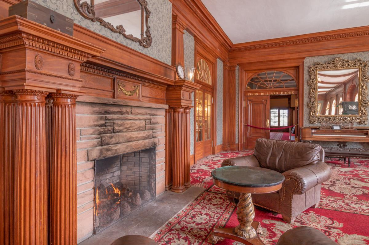 The Stanley Hotel Fireplace