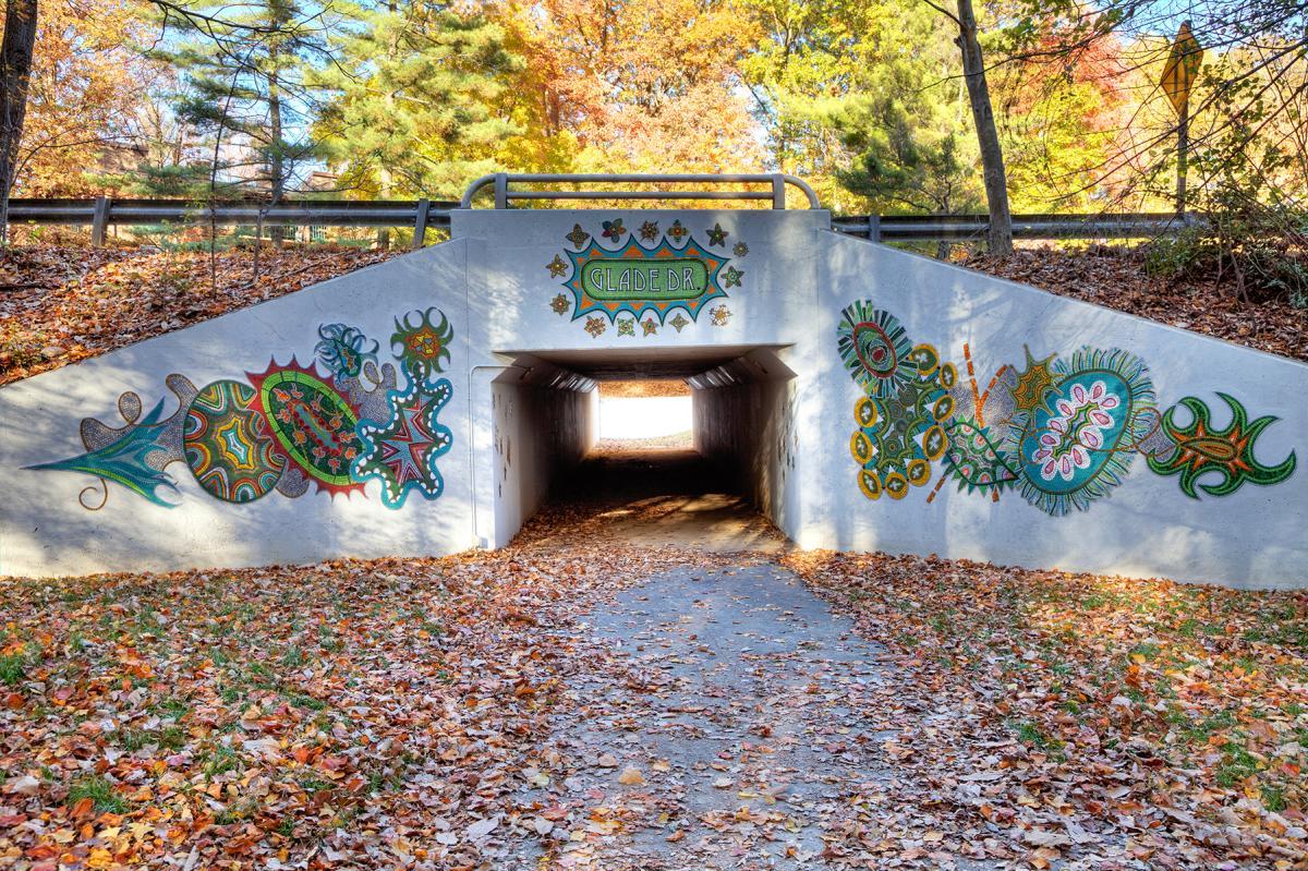 "Reston public art - ""Emerge"""