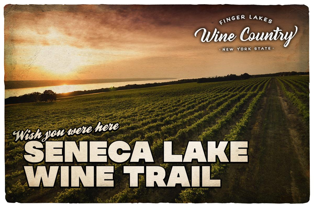 Seneca Lake Wine Trail Postcard