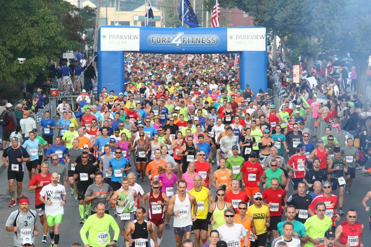 Fort4Fitness Marathon Start