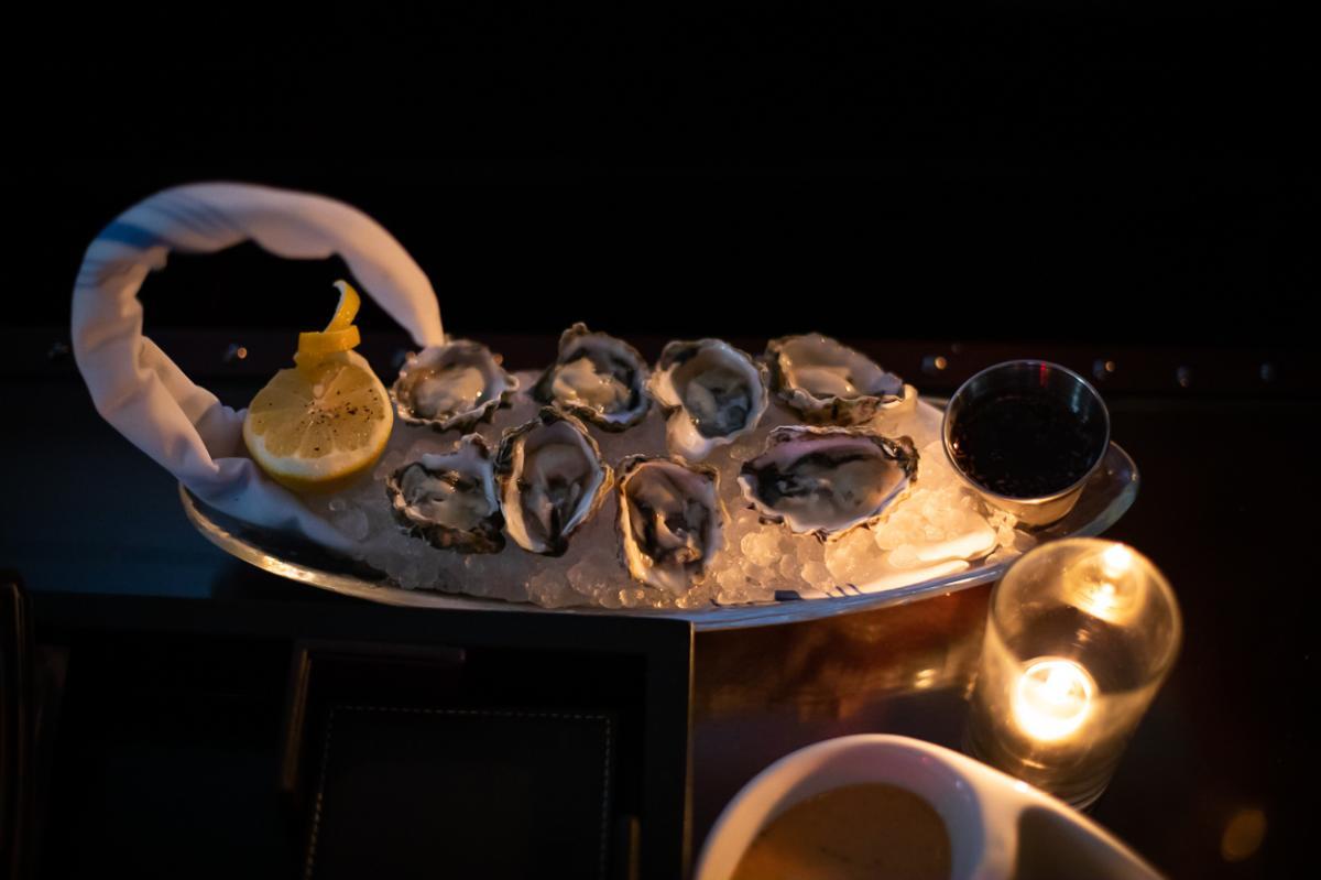 Oysters at Y.N.K. in Irvine