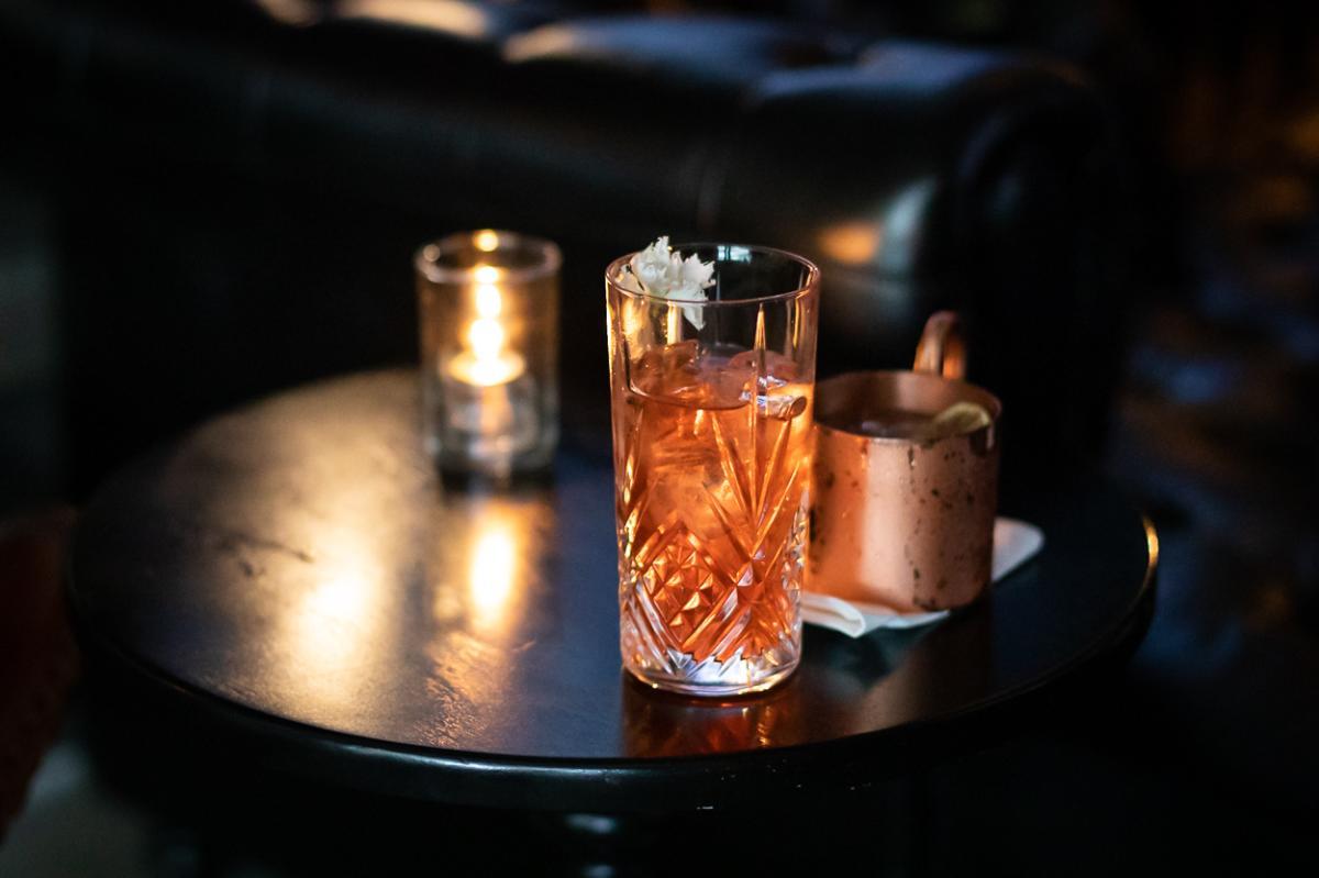 Cocktail at Y.N.K. in Irvine