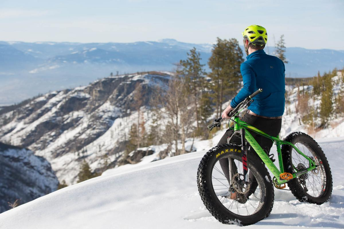 Winter story idea - fat biking