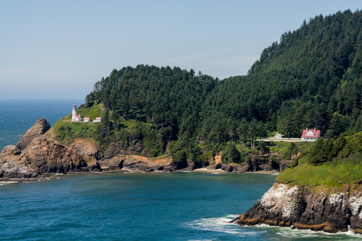 Heceta Head Lighthouse & B&B by Thomas Moser
