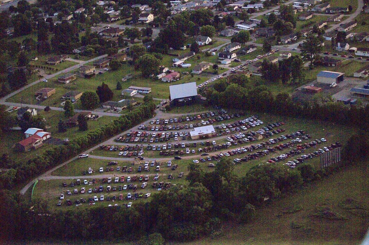 Evergreen Drive In Theatre