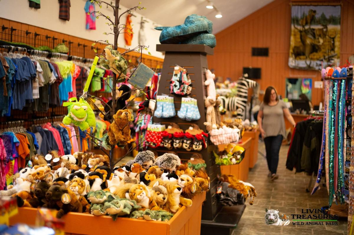 Living Treasures Wild Animal Park Gift Shop