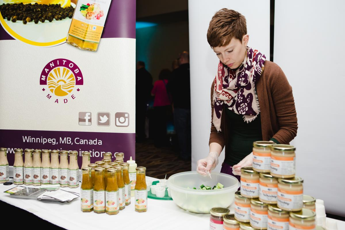 Gourmet Inspirations_Manitoba Made dressings_trade show