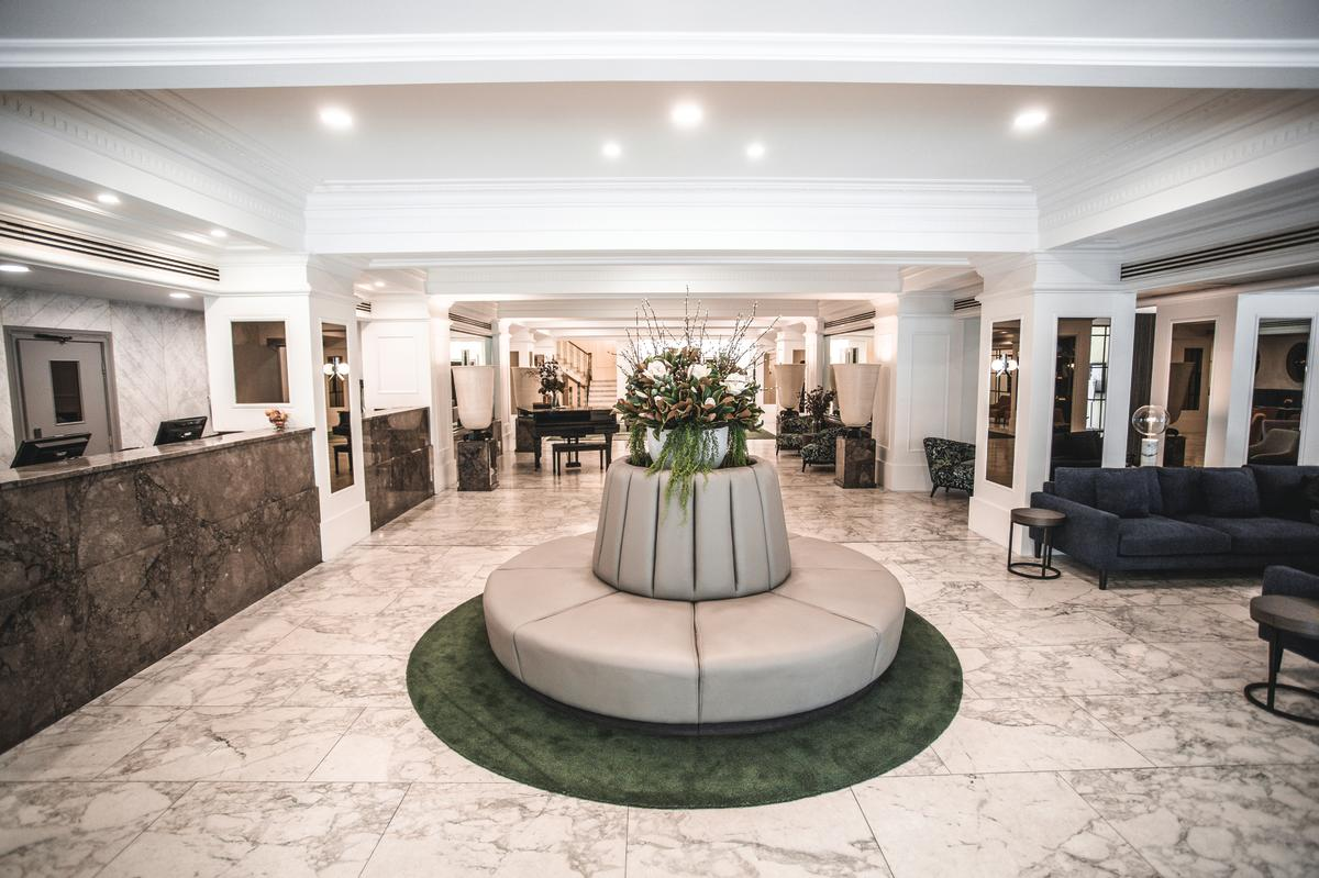 The Savoy Hotel on Little Collins - Hotel Lobby