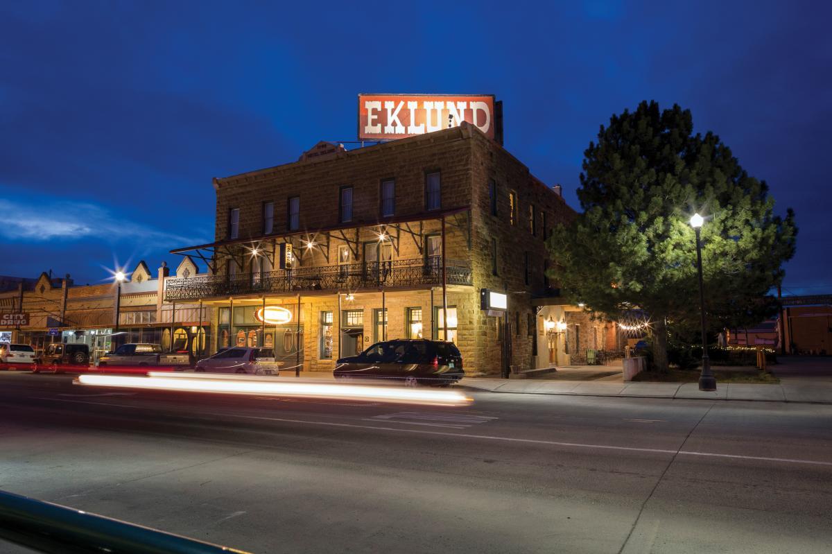 The Eklund Hotel in Clayton, NM