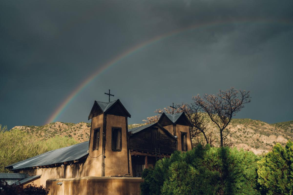 Rainbow over Sanctuario de Chimayo