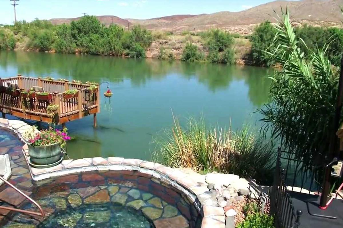 Riverbend Hot Springs on the banks of the Rio Grande in Truth or Consequences