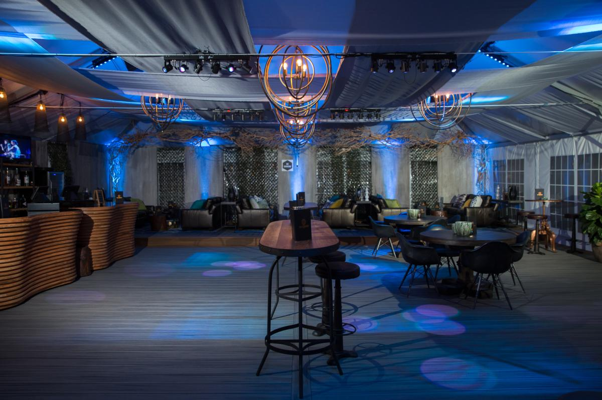 Jiffy Lube Live Meeting and Private Event Space - bar and seating