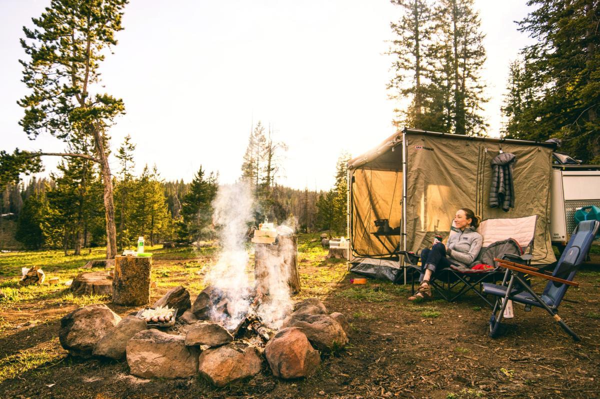 Camping stock