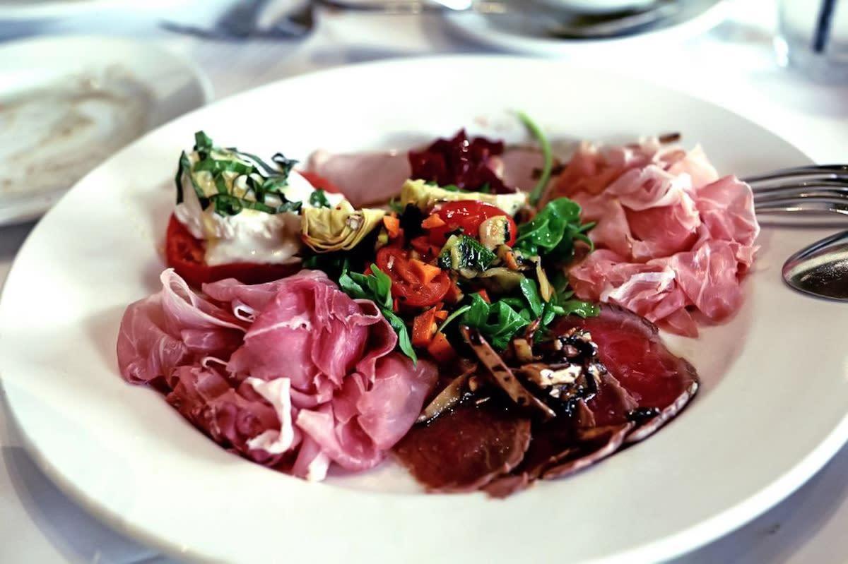 Antipasto Toscano at Valter's Osteria