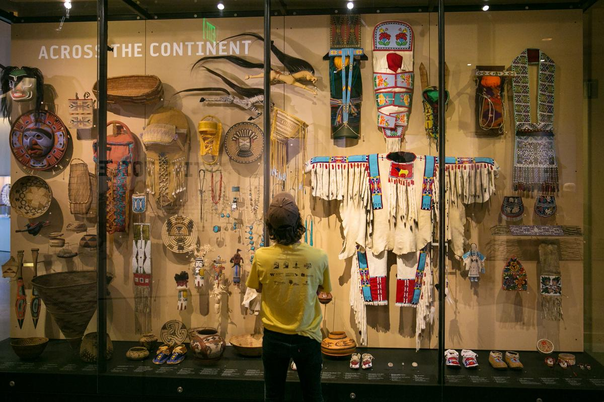 The Native Voices Gallery at The Natural History Museum of Utah