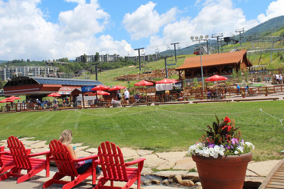 The Land Up at Steamboat Resort