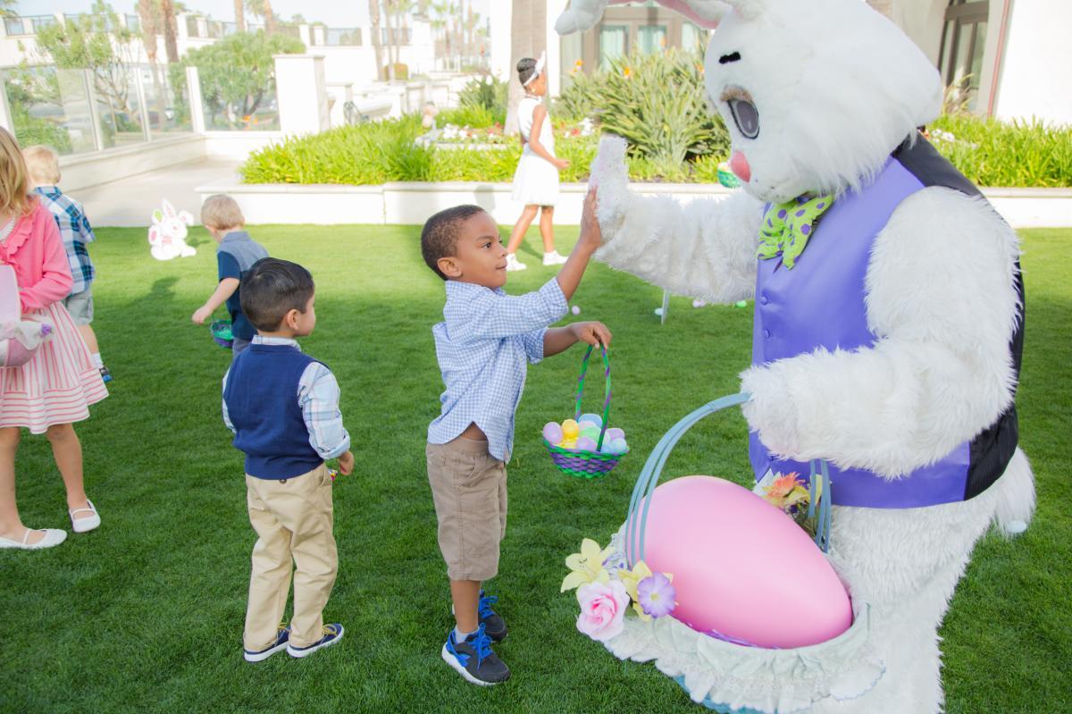 Easter Brunch at the Hyatt Regency Huntington Beach Resort