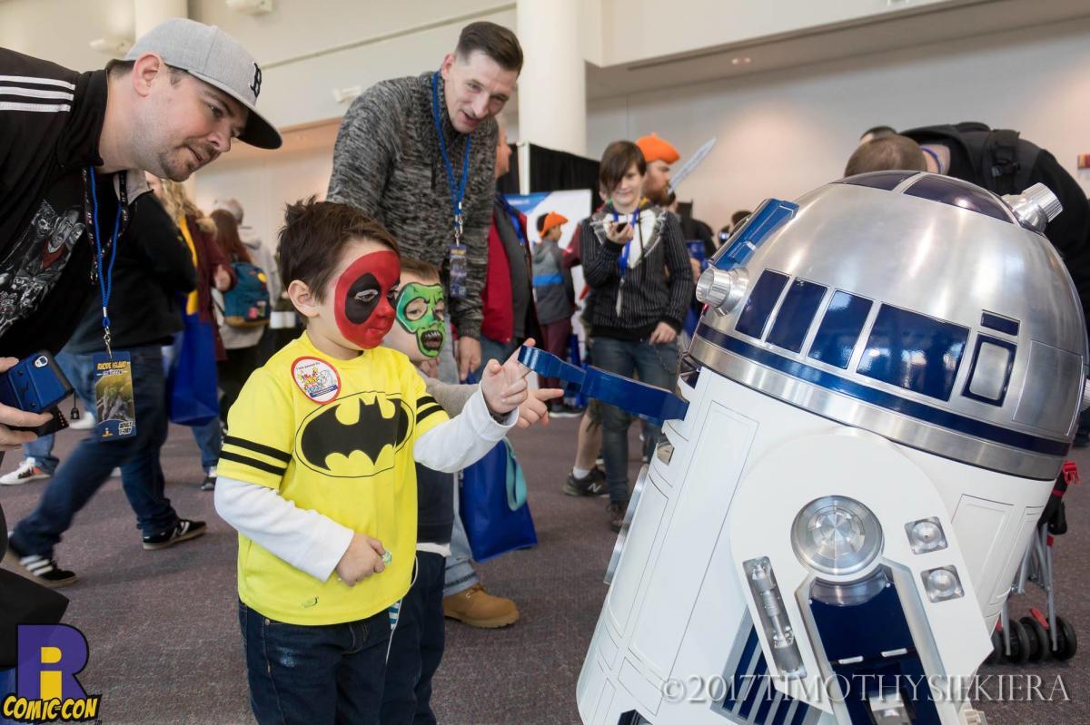 RI Comic Con Kids