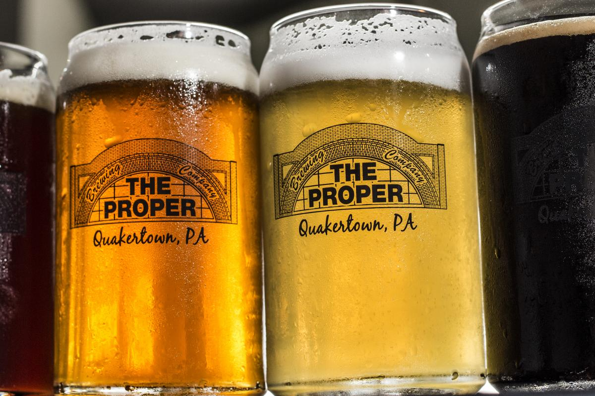 A perfect place to unwind with friends over food and drinks. Proper Brewing Co provides a great atmosphere for good times with great people.