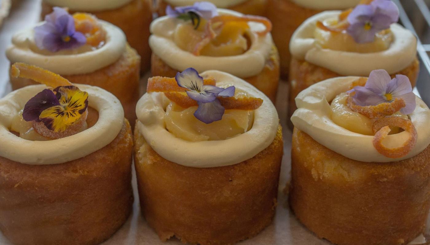 Orange and almond cakes Vudu Larder, Queenstown