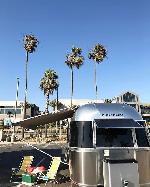 Candace Rock Airstream