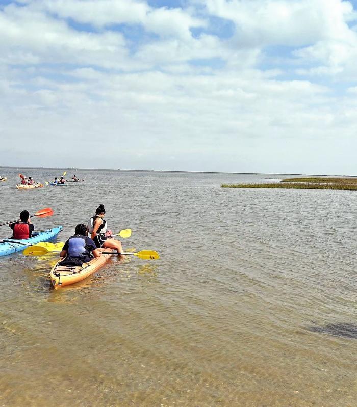 Brazosport kayaking